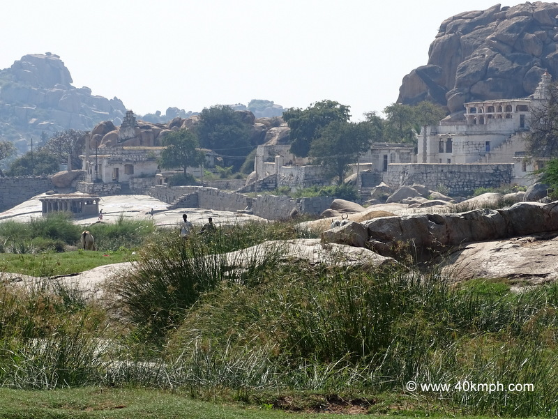 Chintamani Temple at Anegundi nearby Hampi in Karnataka