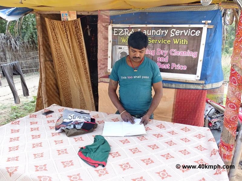 Ezra Laundry Service, Virupapur Gaddi (Hampi), Karnataka