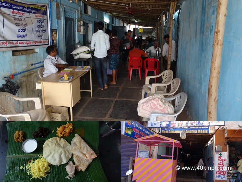 New Annapurna Andhra Bhojanalaya near JSW Vijayanagar Bus Terminal, Hospet, Karnataka