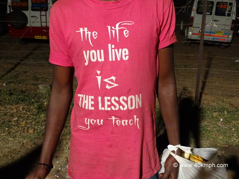 Quote Ones Life is a Teacher