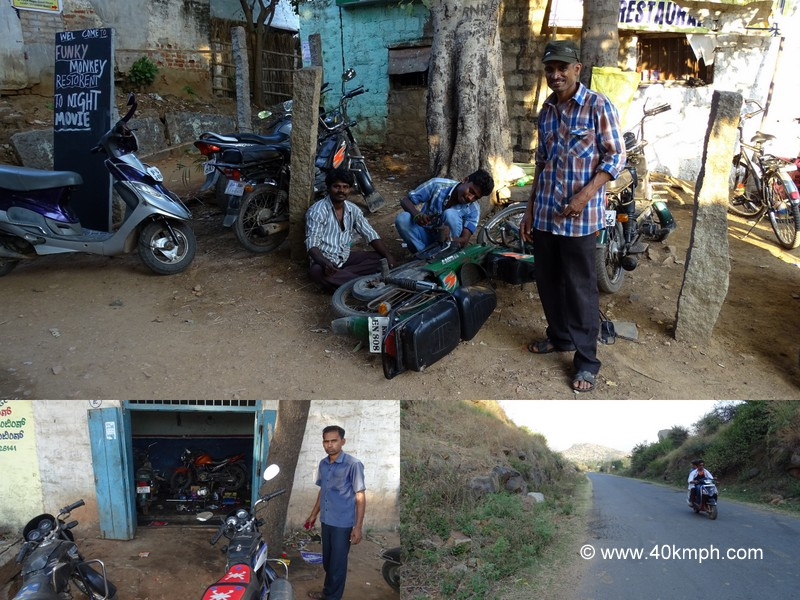 Srinivas Scooter Hire Service in Virupapur Gaddi (Hampi), Karnataka