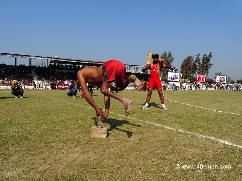 Balancing Act at 79th Kila Raipur Sports Festival 2015 in Punjab