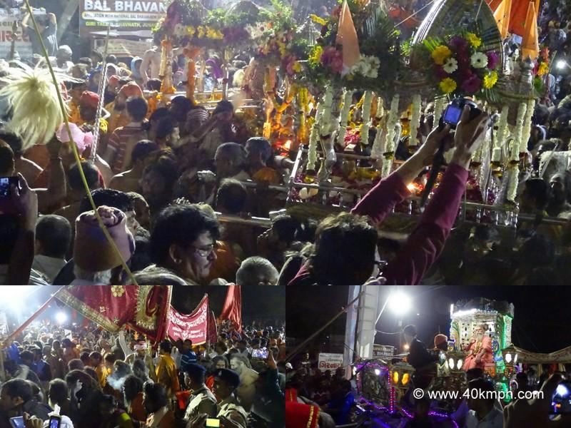 Mahashivaratri Procession at Bhavnath Fair 2015 in Junagadh, Gujarat