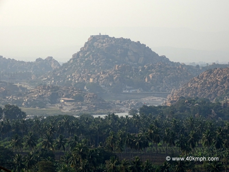 Matanga Hill is One of the Best Place to Watch Sunset in Hampi, Karnataka