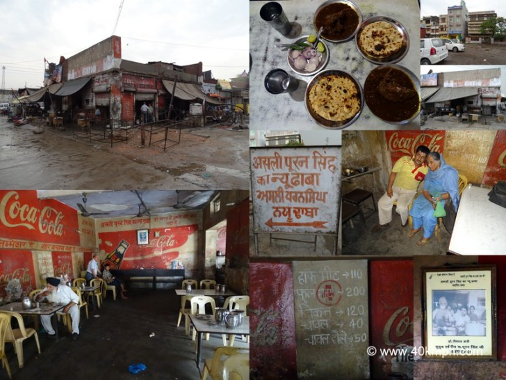 Asli Puran Singh ka New Dhaba, Opposite Ambala Cantt Railway Station, Haryana