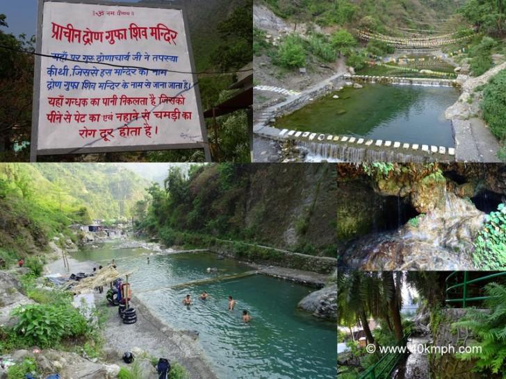 Drona Cave at Sahastradhara in Dehradun, Uttarakhand