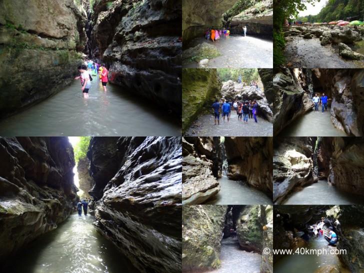 Guchhu Paani (Robber's Cave) in Dehradun, Uttarakhand