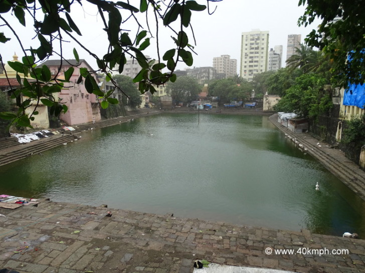 Banganga Tank at Walkeshwar in Mumbai, Maharashtra