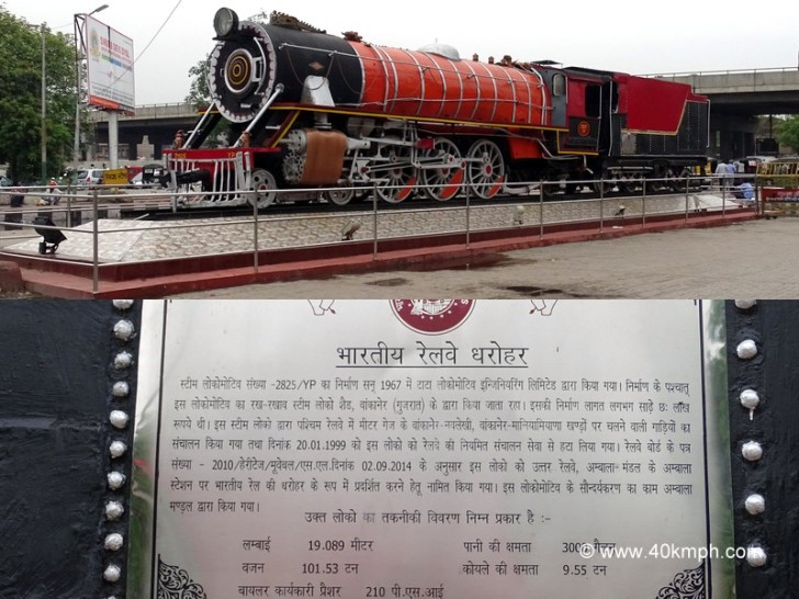 Steam Locomotive - Heritage of Indian Railway