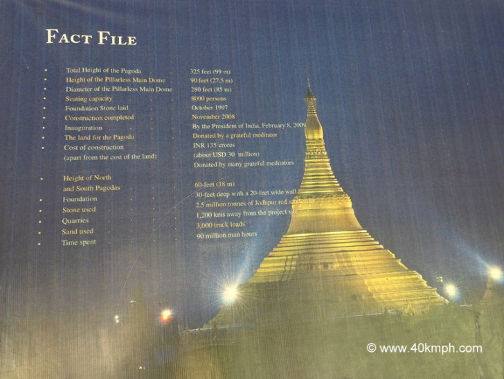 15 Facts About Global Vipassana Pagoda in Mumbai