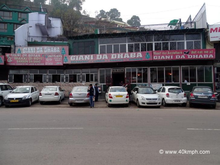 Giani Da Dhaba, NH 22, Sukki Johri, Dharampur, Himachal Pradesh