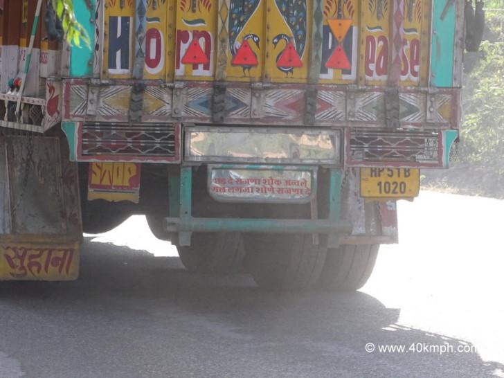 Punjabi Truck Shayri