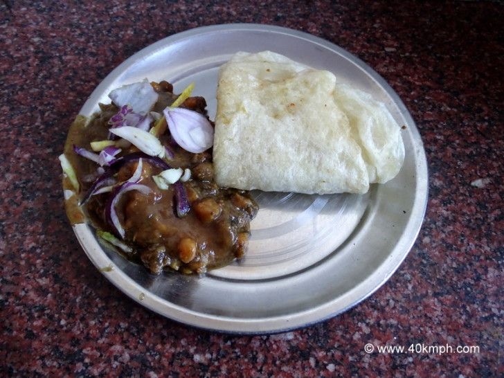 Channa Bhatura by Sita Ram and Son at Lakkar Bazar in Shimla, Himachal Pradesh