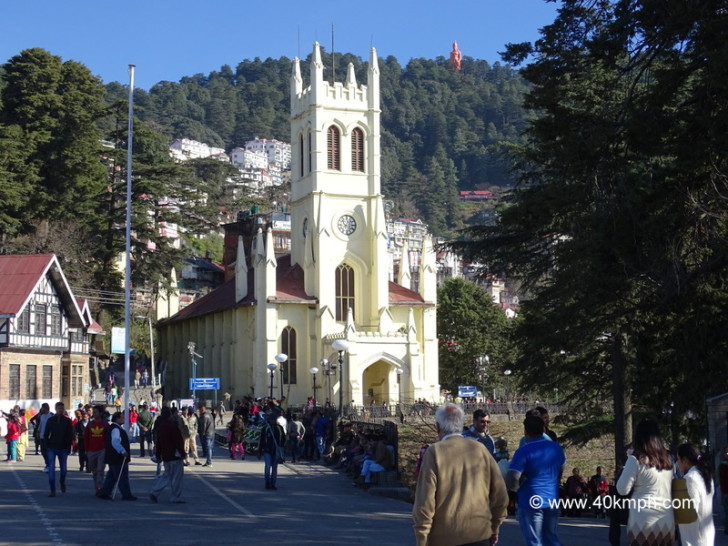 Christ Church in Shimla, Himachal Pradesh
