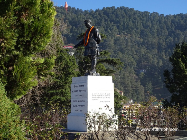 Statue of Founder of Himachal Pradesh