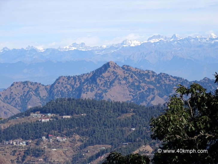 View of Kinnaur from Jakhoo Temple in Shimla, Himachal Pradesh