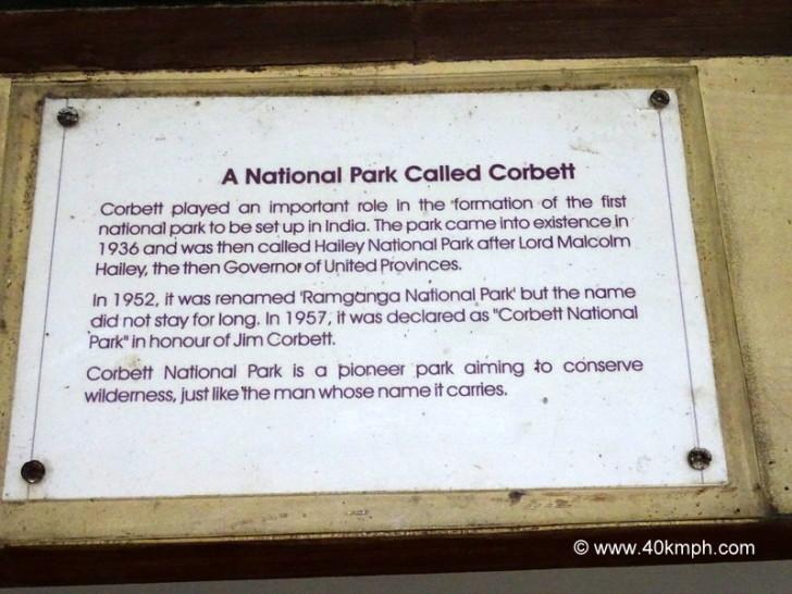 A National Park Called Corbett