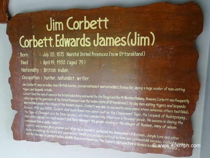 About Jim Corbett