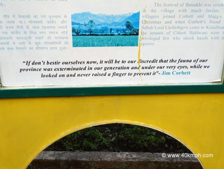 Quote by Jim Corbett