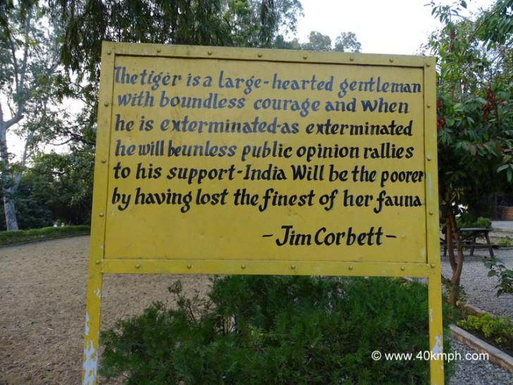 Quote by Jim Corbett