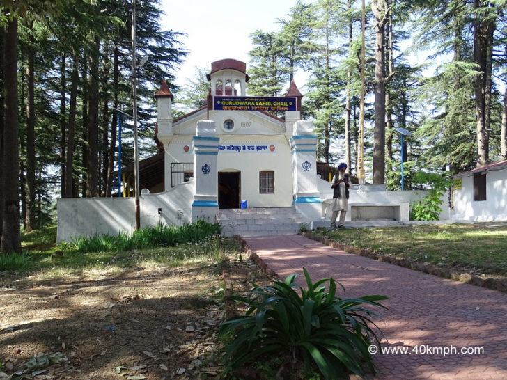 Sri Gurudwara Sahib, Chail, Himachal Pradesh