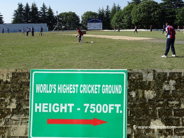 World's Highest Cricket Ground at Chail in Himachal Pradesh
