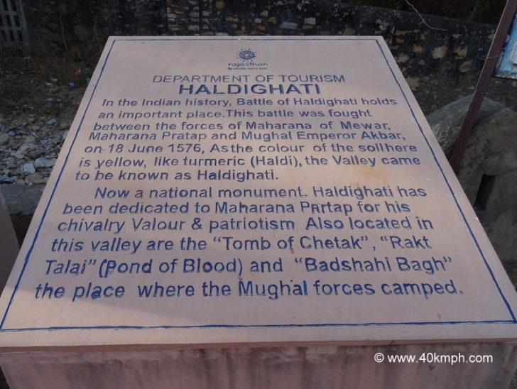 About Haldighati