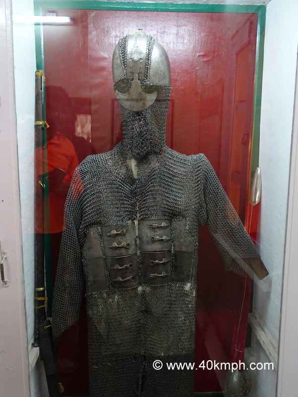 Armour of Maharana Pratap kept in City Palace, Udaipur, Rajasthan