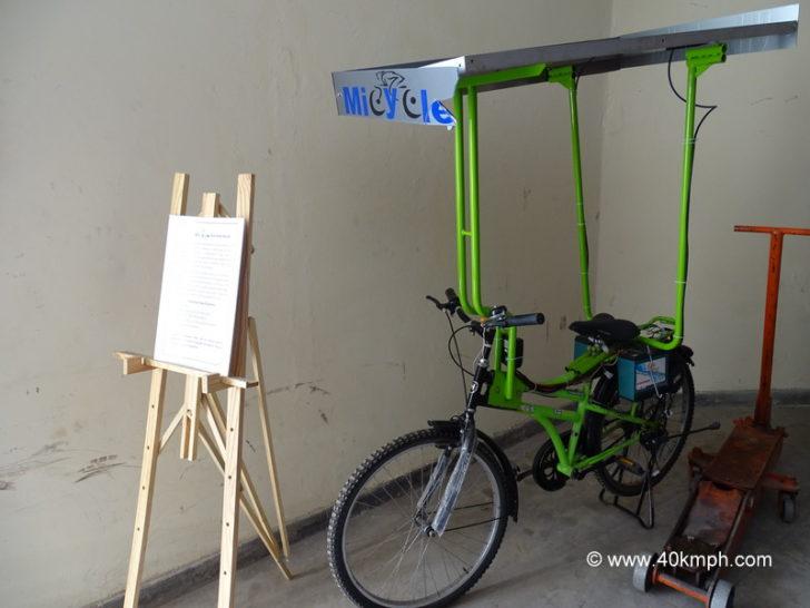 Eco-Solar Bicycle