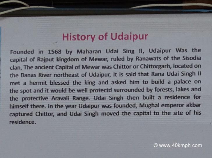 History of Udaipur (Rajasthan)