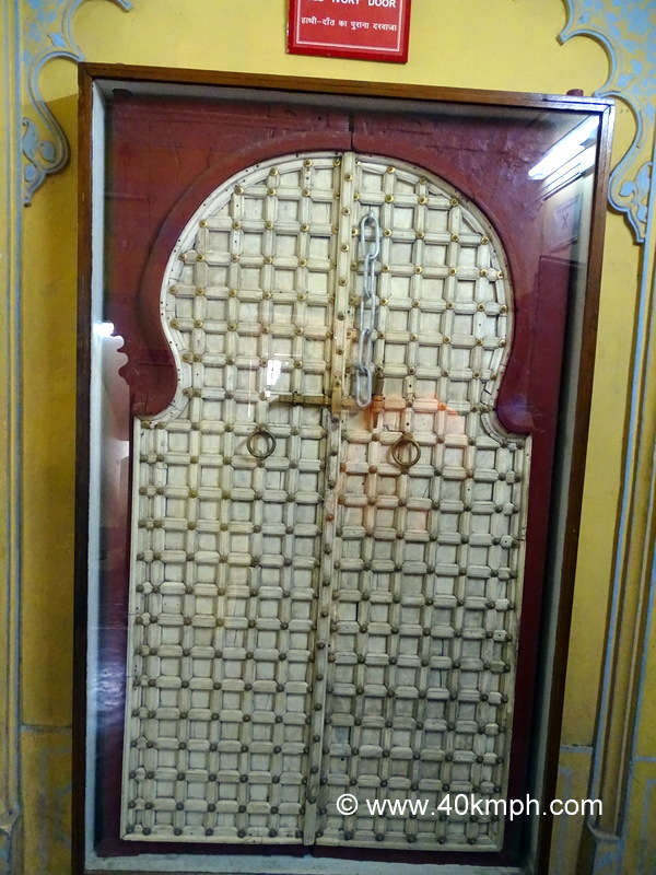 Ivory Door at City Palace, Udaipur, Rajasthan