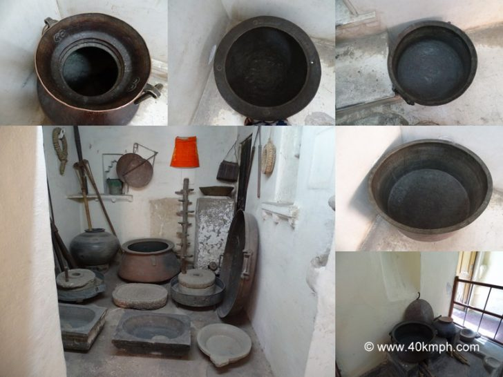 Kitchen Utensils at City Palace, Udaipur, Rajasthan