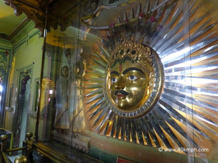 Sun Emblem, City Palace, Udaipur, Rajasthan