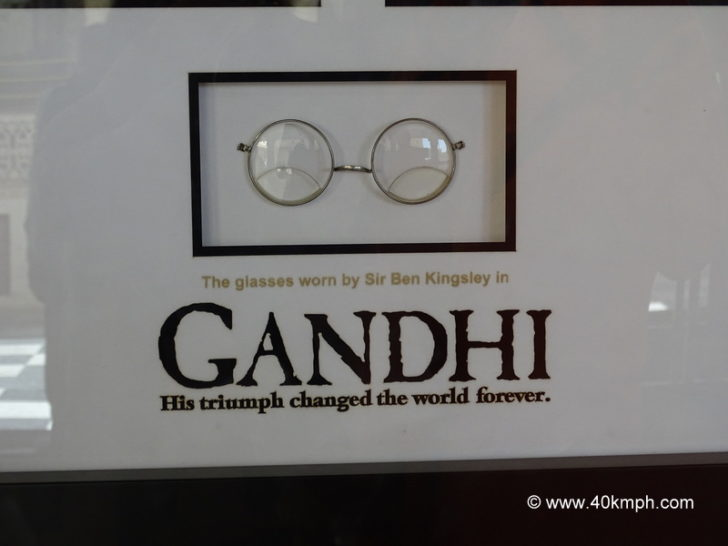 The Glasses Worn by Sir Ben Kingsley in Gandhi Movie