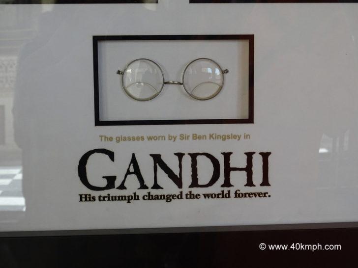 The Glasses Worn by Sir Ben Kingsley in Gandhi Movie