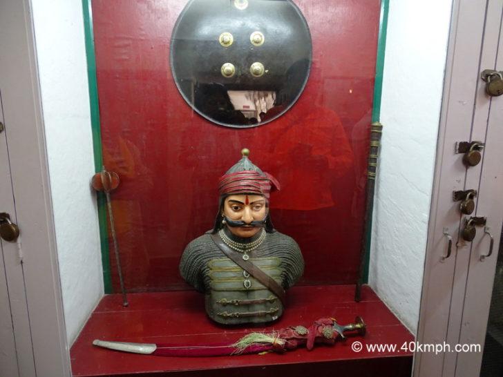 Weapon of Maharana Pratap kept in City Palace, Udaipur, Rajasthan