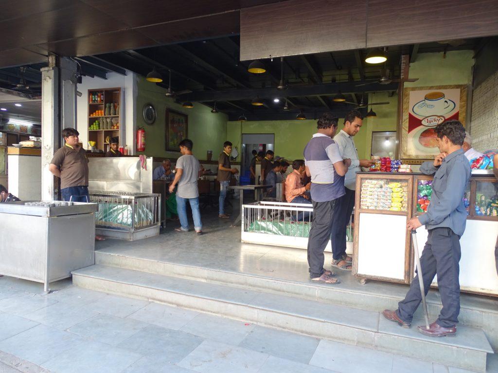 Lucky Tea Stall, near Lal Darwaja, Ahmedabad, Gujarat