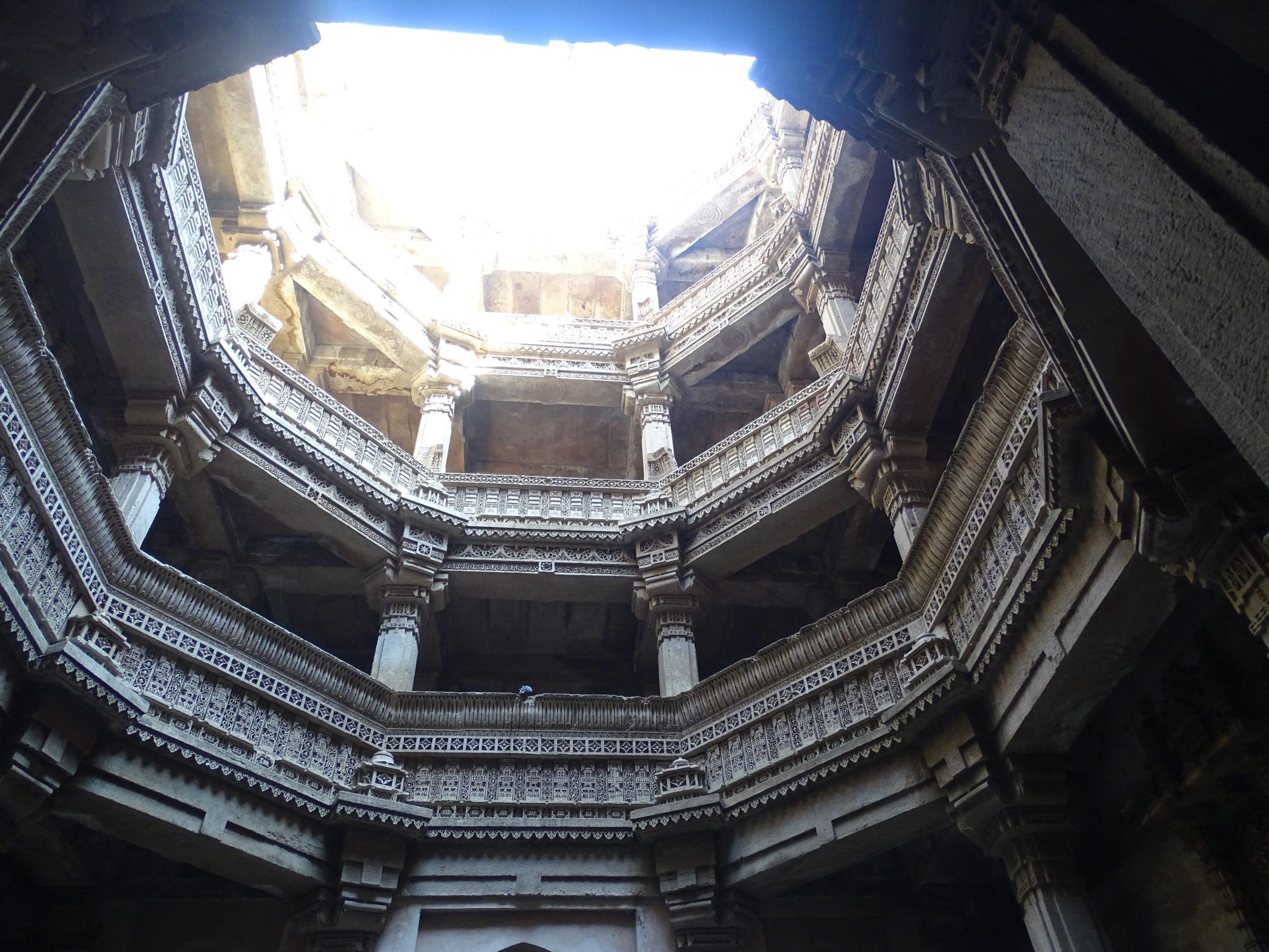 Adalaj Step-Well, Ahmedabad, Gujarat, India