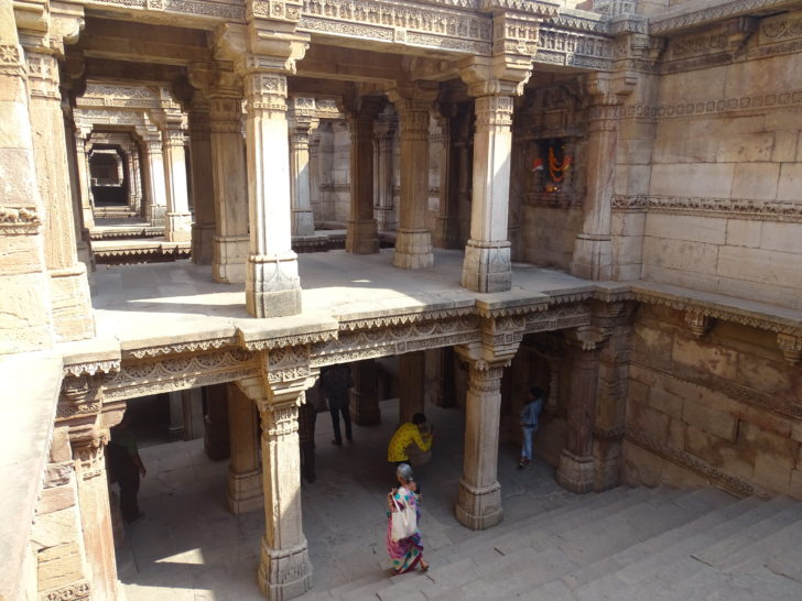 Step-Well, Adalaj, Adalaj Village, Ahmedabad, Gujarat, India
