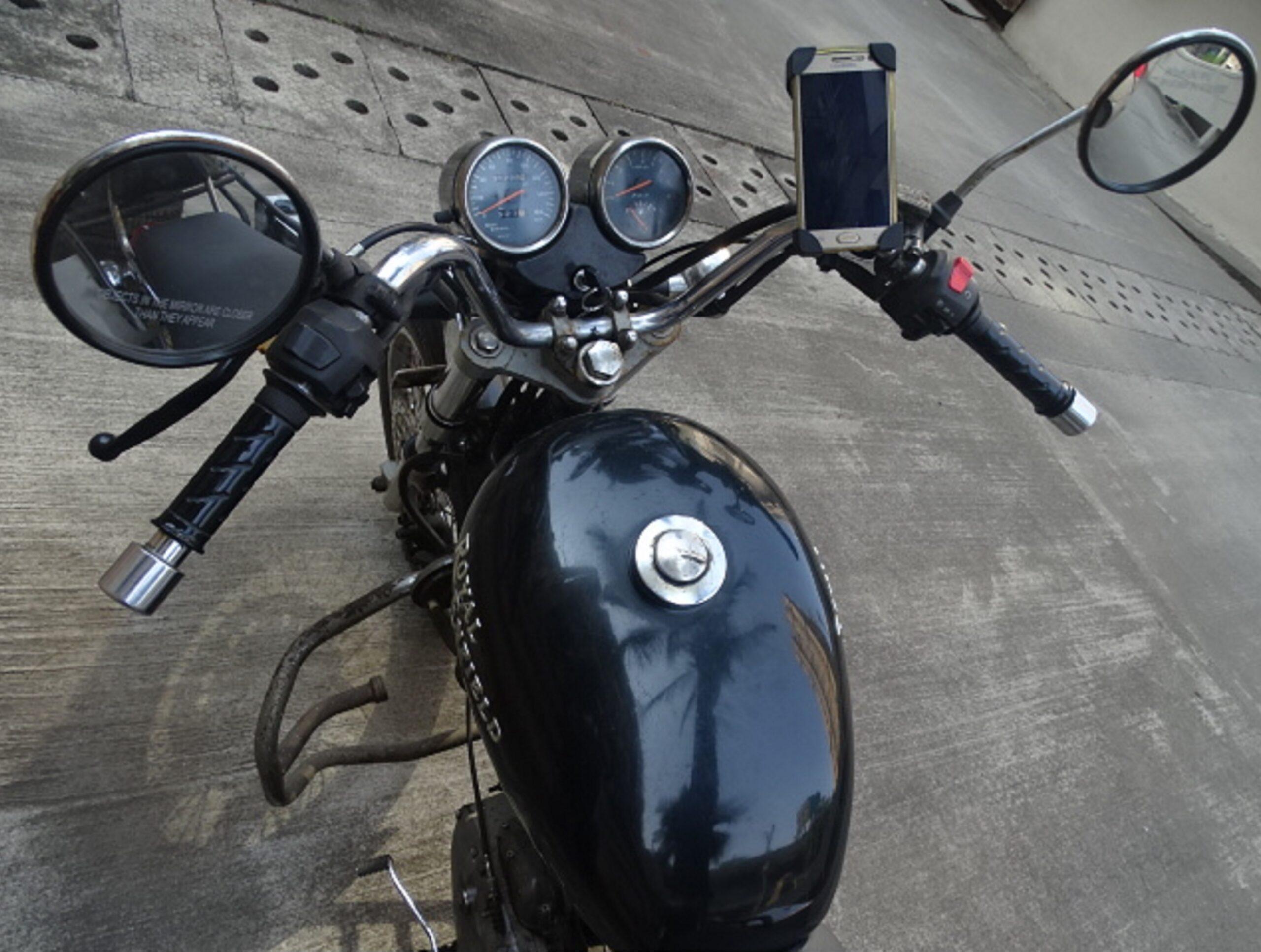 Glito Bike Mobile Phone Holder - RE Thunderbird Twinspark 350