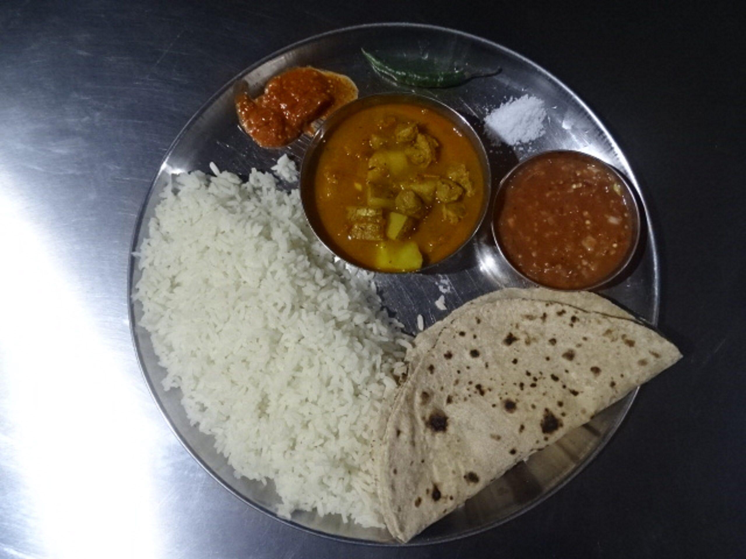Odisha Food Thali at Hotel Shree Sai Keshav, Shirdi, Maharashtra, India