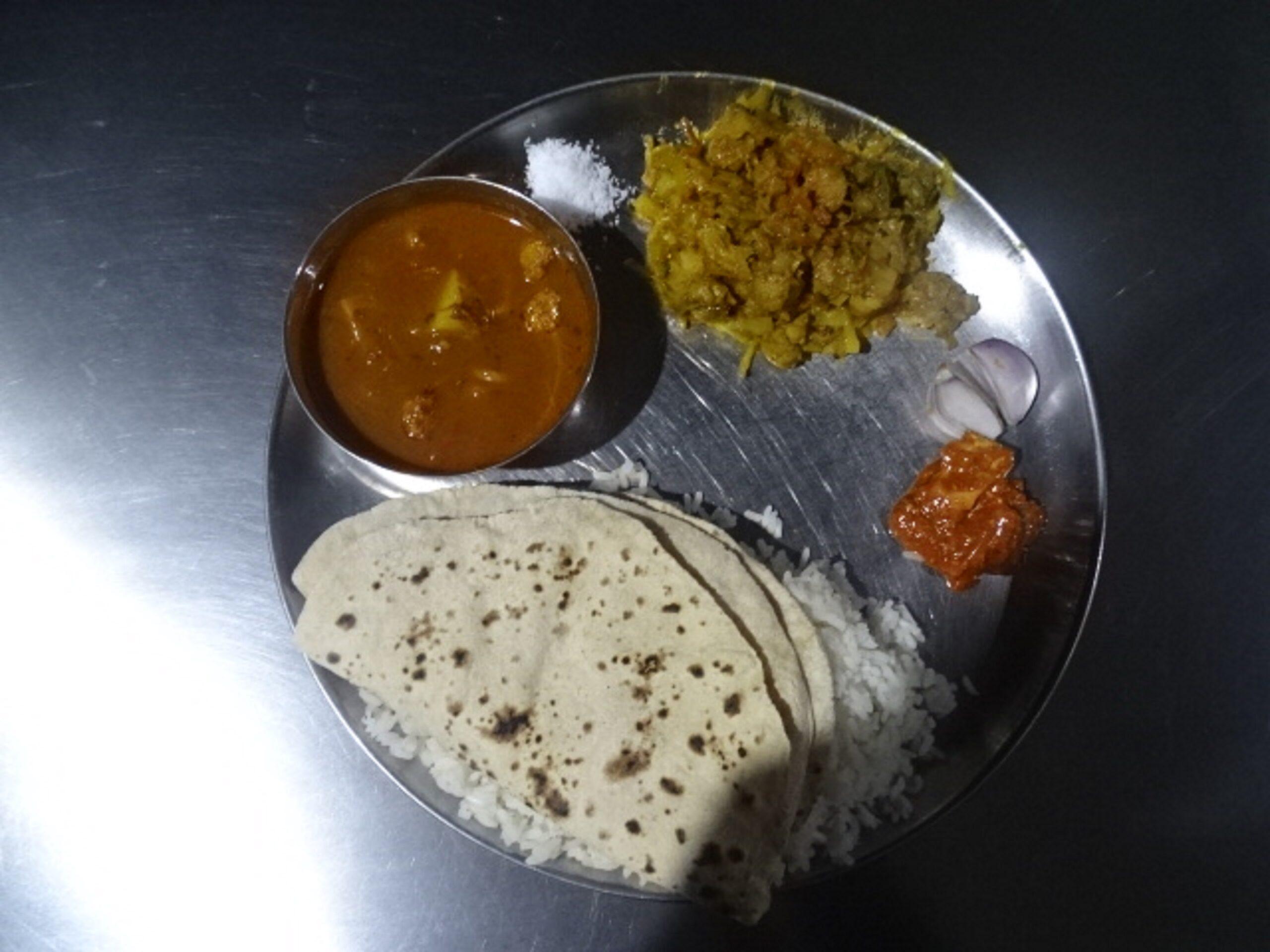 Odisha Food Thali in Shirdi, Maharashtra, India