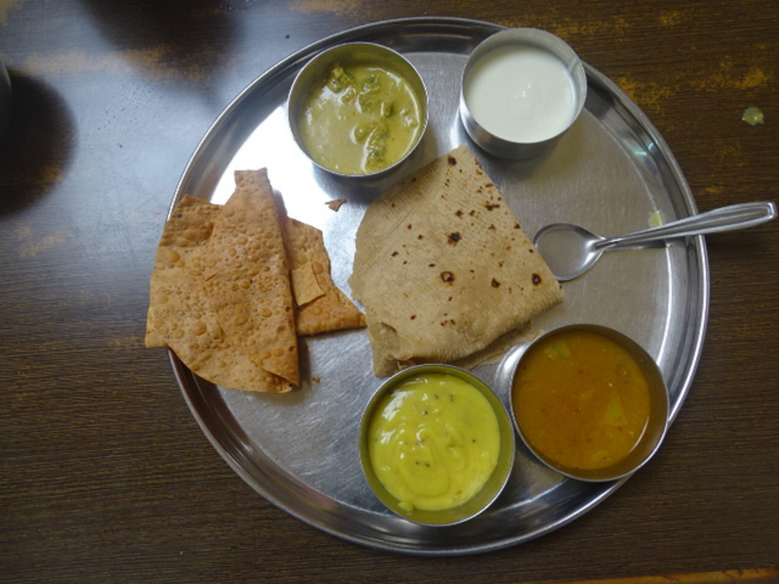 Paid Prasad Meal at Shree Sai Prasadalay in Shirdi, Maharashtra, India