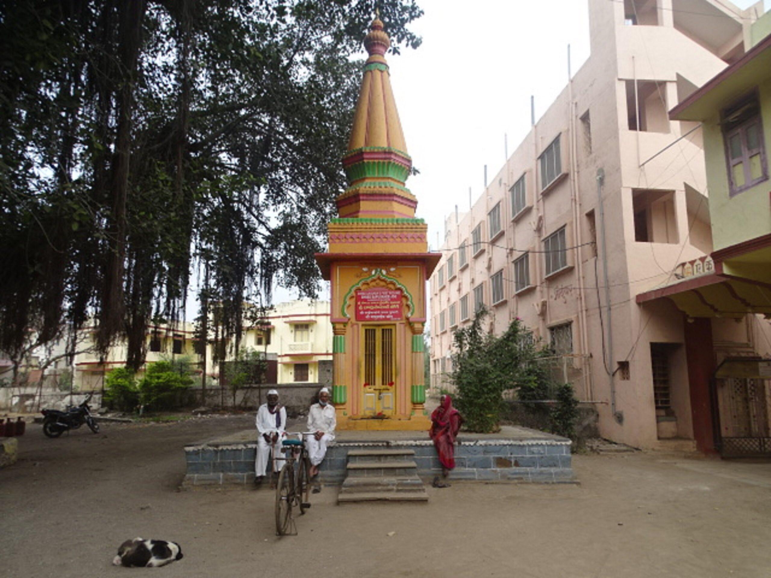 Shree Bapusaheb Jog (Shree Sai Baba's First Poojari) Samadhi Mandir, Sakori, Shirdi, Maharashtra, India