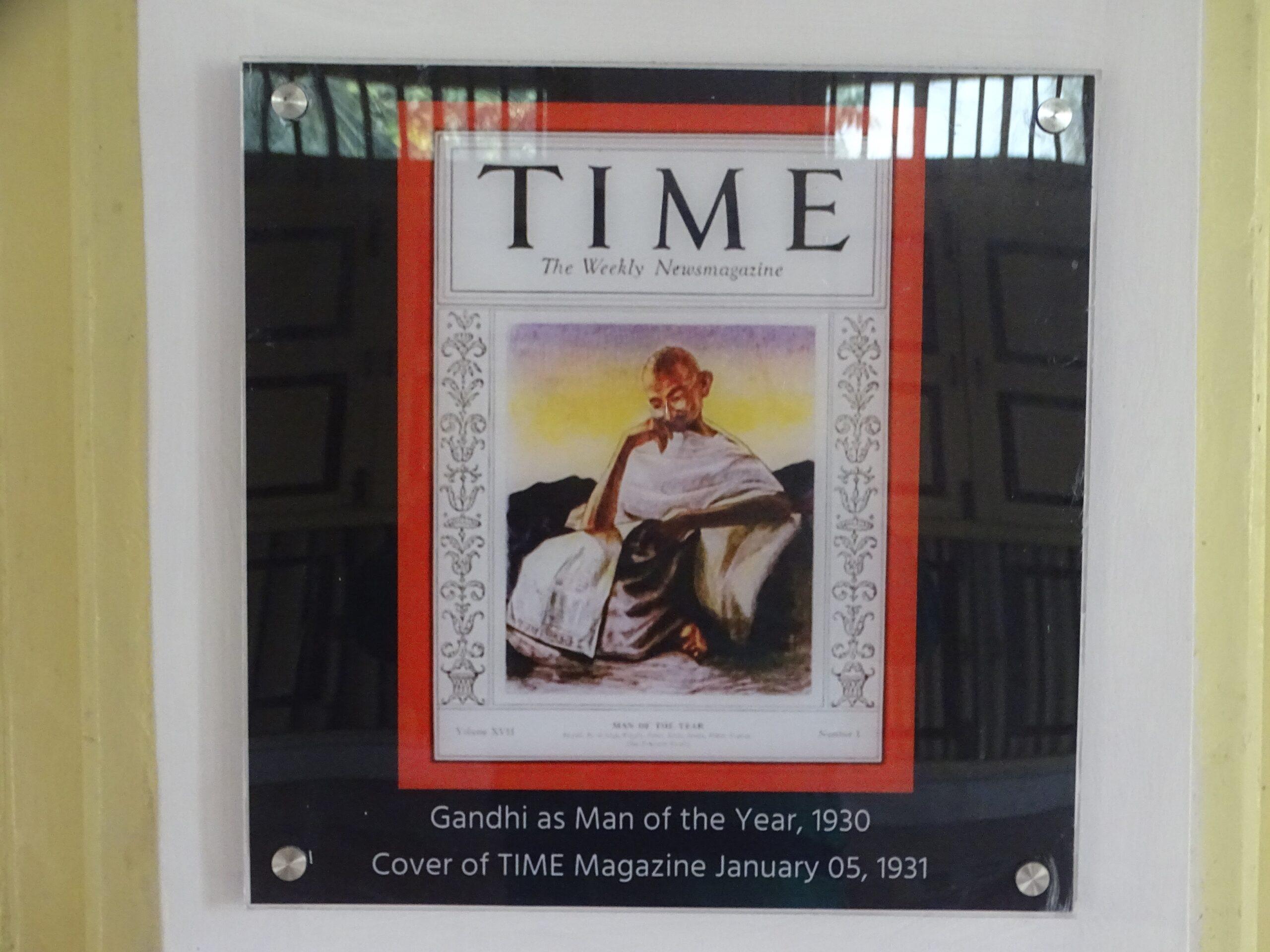 January 05, 1931 - Mahatma Gandhi on The Cover of TIME Magazine