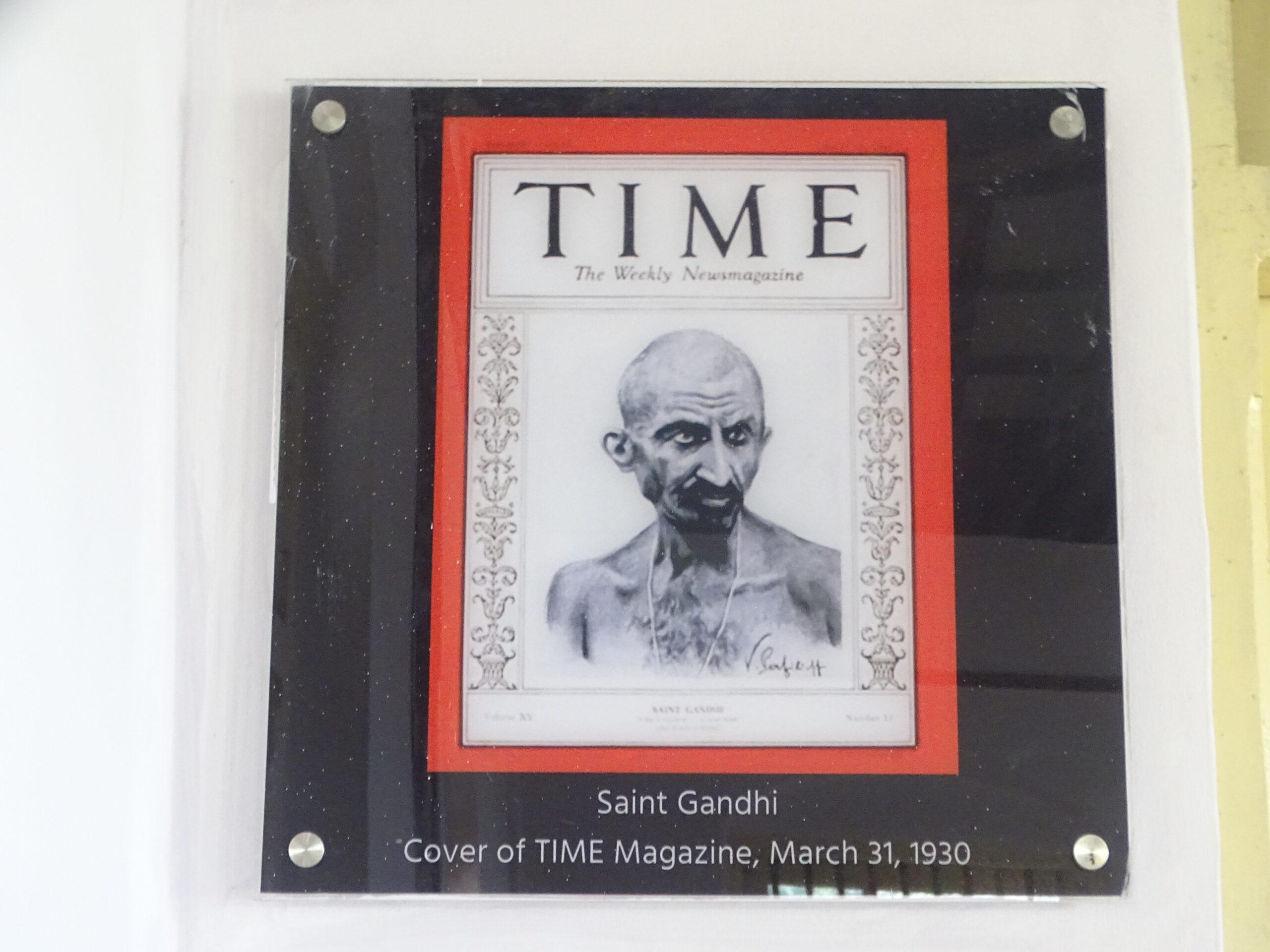 March 31, 1930 - Mahatma Gandhi on The Cover of TIME Magazine