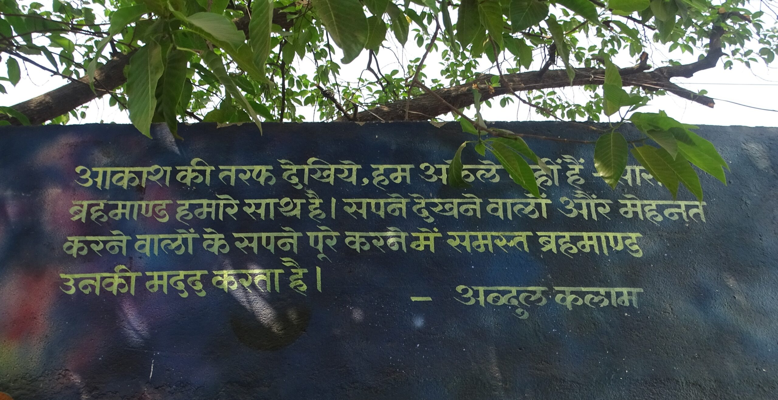 Motivational Quote (in Hindi) by Dr. Abdul Kalam